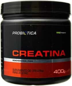 Creatina Creapure Monohidratada Pura - Probiótica