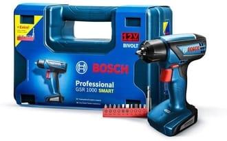 Furadeira/Parafusadeira Bosch GSR 1000 Smart