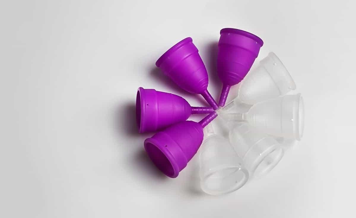um Kit Coletor Menstrual