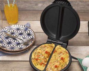 omelete, omeleteira, talheres