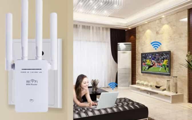 repetidor signal wifi em casa