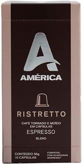 Cápsula de Café América Ristretto
