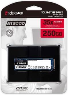 SSD Kingston Série A2000 250GB
