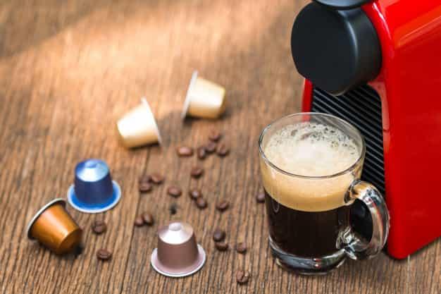 Nível de intensidade café