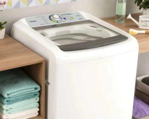 máquina de lavar roupa de abertura superior