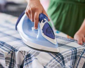 usar ferro de passar roupa