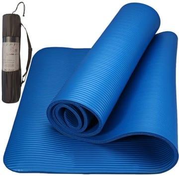 Tapete para Yoga Pilates Exercícios com Bolsa Yangfit