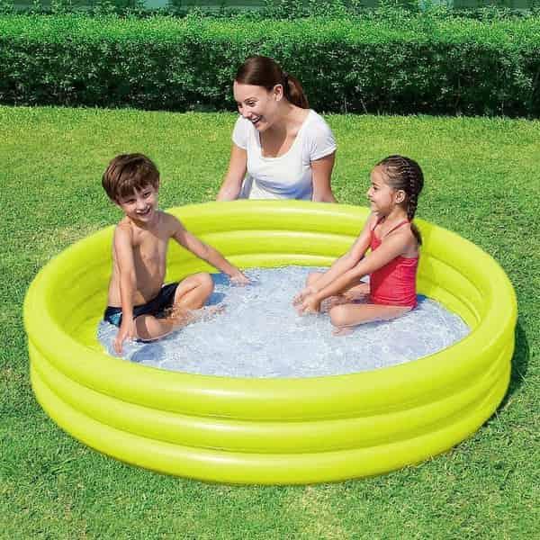 dimensão de piscina para 3 pessoas