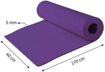Tapete para Yoga em EVA Lilás Evamax