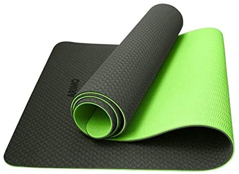 ARIMO Tapete Yoga Mat Antiderrapante TPE Ecológico Biodegradável