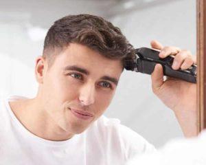 usar melhor cortador de cabelo a si mesmo homem