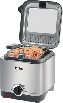 Fritadeira Elétrica Deep Fry Inox 1.8L 110v Philco