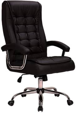 Cadeira de Escritório Presidente Munique Mola Conforsit