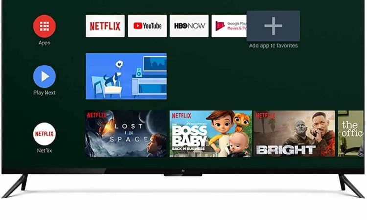 um tv stick e smart tv com netflix
