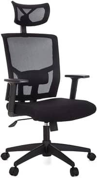 Cadeira de Escritório Presidente Giratória Ergonômica Anima