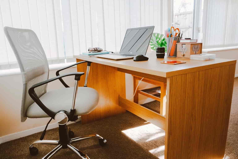 cadeiras presidente home office, notebook