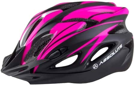 Capacete Ciclismo Bike Absolute Nero Viseira Preto Rosa P/M