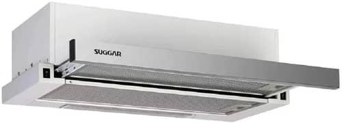 Depurador de ar slim de embutir 60cm inox 220V Suggar