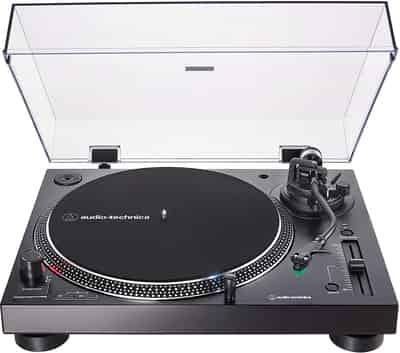 Toca Discos Audio-Technica AT-L120XUSB-BK Direct Drive
