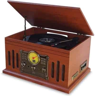 Vitrola Toca Discos de Vinil Superbox Uitech