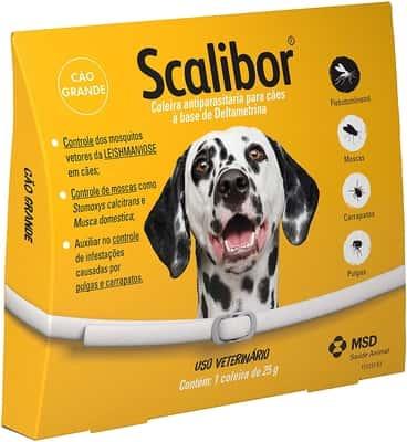 Coleira Antiparasitária Scalibor 65cmpara Cães
