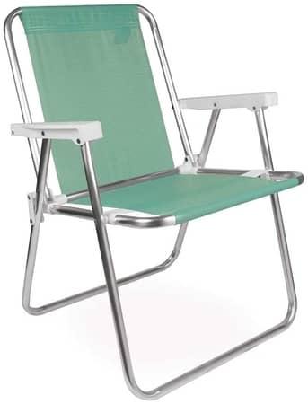 Mor 002278 Cadeira Alta Alumínio Verde