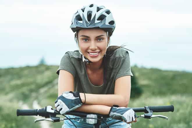 capacete feminino