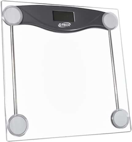 G-Tech Balgl10 Balança Digital em Vidro Temperado Transparente