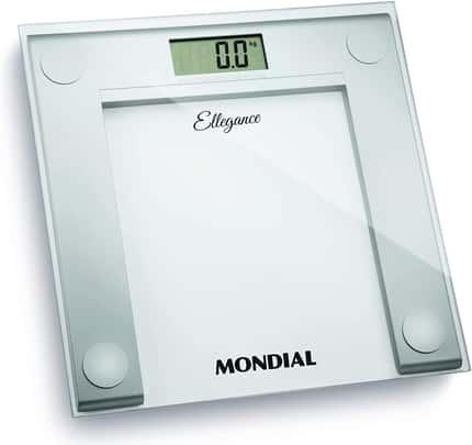 Balança Digital Ellegance Bateria Branca, Mondial - BL-03