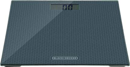 BLACK+DECKER Balança de Banheiro Cinza 110V BK40