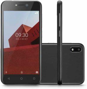 CELULAR 3G 32GB TELA 5'' P9128 PRETO, Multilaser