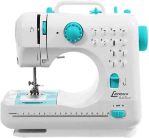 Máquina de Costura Portátil Multi Points Lenoxx Branco PSM101
