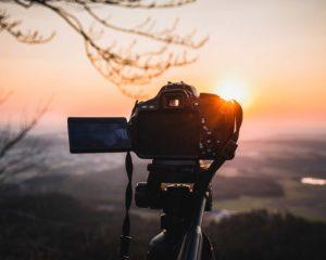melhor tripé para câmera para tirar foto de pôr de sol